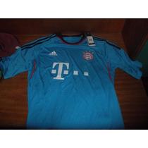 Camiseta Bayer Munich Suplente Nueva! -adidas Con Etiquetas