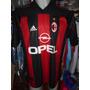 Camiseta Fútbol Milan Italia Adidas 2000 2001 Redondo #16 L