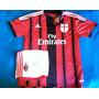 Camiseta De Milan Temporada 2015/16 Nueva Titular C/short