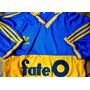 Camiseta Retro De Boca Juniors Con El Logo De Fate