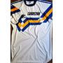 Camiseta Retro Boca Juniors Fiat Alternativa