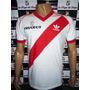 Camiseta River Retro Campeon 89/90 Peugeot N°7 Medina Bello