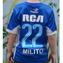 Camiseta Racing Alternativa Nenes Kids 2016 Milito Bou