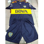 Conjunto Camiseta Short Boca Juniors Niños - Liquidacion