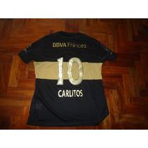 Camiseta Boca Juniors Nike Negra Carlitos Xl Entrego Ya!!