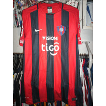 Camiseta Cerro Porteño Titular 2015 - Paraguay -