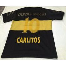 Camiseta Boca Juniors Nueva Negra Dorada 2016 Adultos