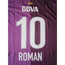 Camiseta Oficial Boca 2013 Violeta Roman 10 Envio Gratis