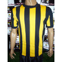 Camiseta De Rosario Central Retro Campeon 1974 Tela Pique