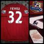 Camiseta Suplente Manchester City - 32 Tevez