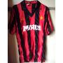 Camiseta Fútbol Milan Italia Motta Marca Bruni Retro 1993 M