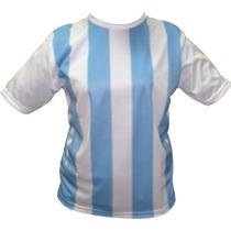 Camiseta Argentina Infantil Talles 6 Al 16 Consultar Stock