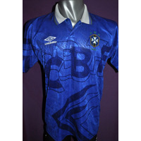 Camiseta De Brasil Umbro, Copa América 1993. Suplente Azul