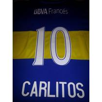 Camiseta Nueva Cabj Titular 2016 Carlitos #10