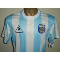 Camiseta Argentina 1986 Retro 10 Maradona S M L Xl Xxl