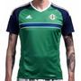 Camiseta #adidas Irlanda Del Norte Verde Eurocopa 2015 2016