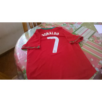 Increíble Camiseta De Portugal Ronaldo #7 Titular