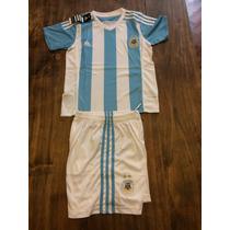 Kit De Niño Argentina 2015 Short Y Camiseta Oferta