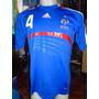 Camiseta Fútbol Selección Francia Euro 2008 Vieira #4 T. M
