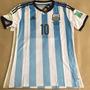 Camiseta Selección Argentina Mundial 2014 + Parches Matchday