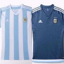 Camiseta Seleccion Argentina Adidas Tit Y Sup 2015 / 2016