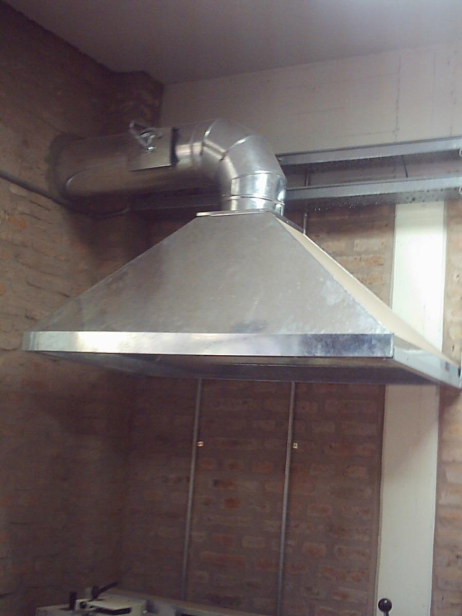 Campanas para cocinas integrales for Cocinas de acero inoxidable para restaurantes