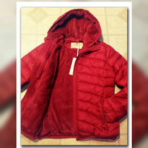 Campera Inflable Mujer C/capucha Desmontable
