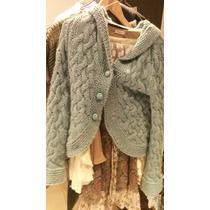 Campera Rapsodia Con Capucha De Lana Sweater