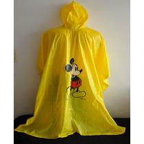 Capa De Lluvia Mickey Mouse Original Disney 1970