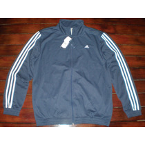 Campera Deportiva Adidas Modern Kn Suit Hombre Talle: L Azul