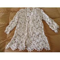 Tapado Tejido Crochet Natural