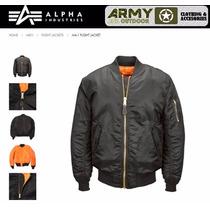 Campera Alpha Aviadora Ma1 Original Tambien Mod N2b M65