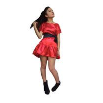Vestido De Mujer Raso Satén, Dark Series, Villalba, Ves272