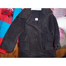 Saco De Polar De Nene Talle 0 Color Negro