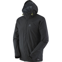 Campera Salomon Elemental Ad Rompevientos Impermeable Hiking