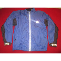 Campera Rompeviento Running Nike Reflectiva Talle Xl