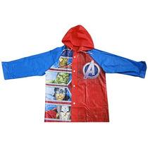 Piloto Infantil Avengers Con Paraguas Original - Disney