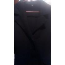 Saco Negro Para Vestir 3/4 Impecable S