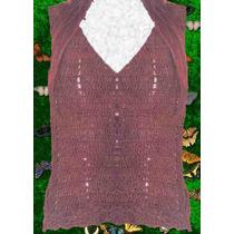 Musculosa Remera Crochet Varios Talles Y Colores