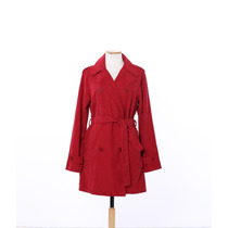 Trench Mujer Microfibra Impermeable