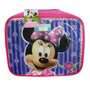 Lunchera Térmica Infantil Minnie Disney Original Metalizada