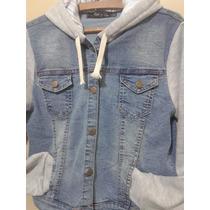 Campera De Jeans Con Algodon Talle S Al Xxxl