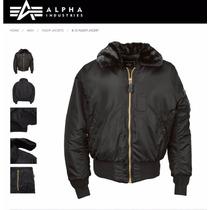 Campera Alpha Industries B15 Aviadora Original