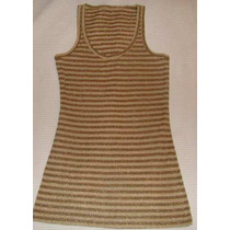 Musculosa Larga - Vestido Corto - Talle M - Tela Spandex