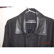 Campera Sacon Ives Saint Laurent Original C/nueva Tipo Polo