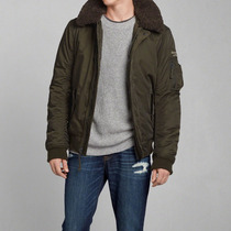 Campera Abercrombie & Fitch Modelo Lake Harris Morgan Parka