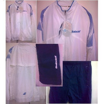 Conjunto Deportivo Babolat Hombre (campera Y Pantalón)