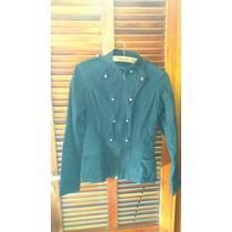 Campera/chaqueta De Gabardina Como Nueva