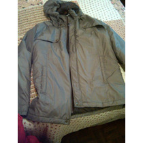Campera De Invierno Mango Talle M Impermeable Impecable