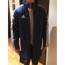 Campera Adidas Con Abrigo Larga